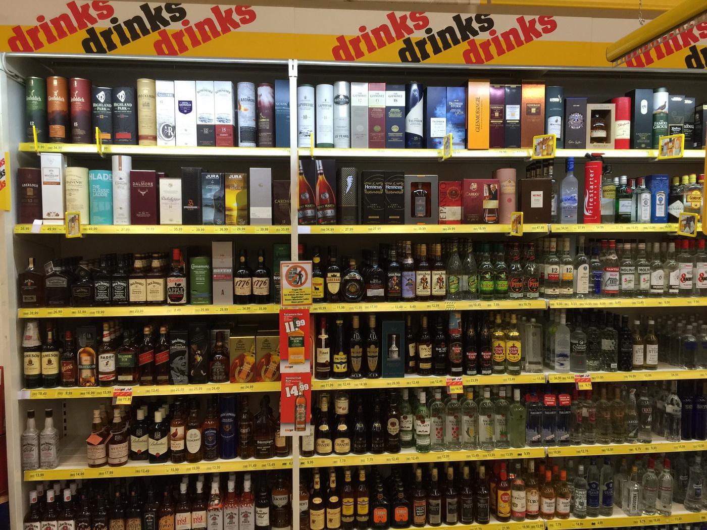 Enormes Getränke-Angebot - die trinkgut Getränkemärkte